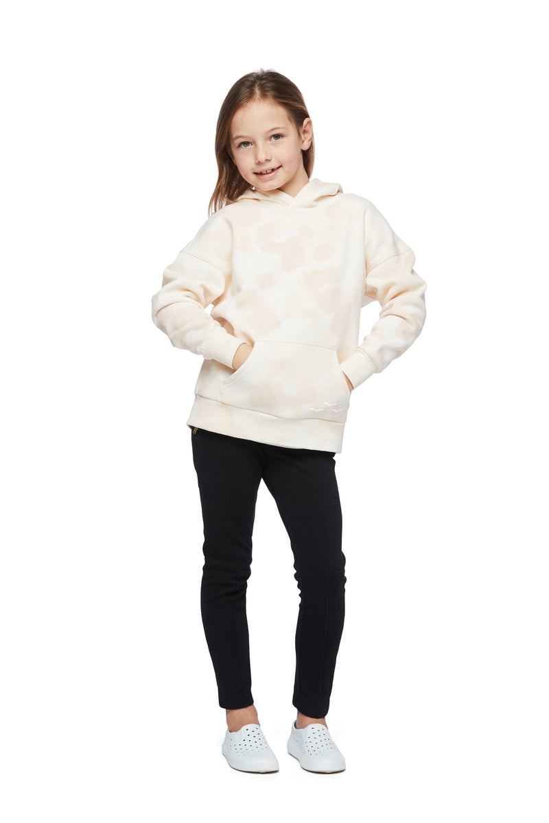Kids Cooper hoodie in sand sponge from Lazypants - always a great buy at a reasonable price.