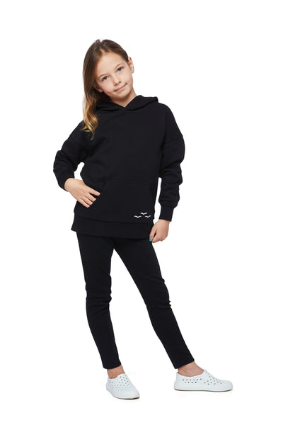 Kids Cooper hoodie in black from Lazypants - always a great buy at a reasonable price.