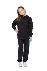 Kids Niki and Cooper fleece set in black sponge from Lazypants - always a great buy at a reasonable price.
