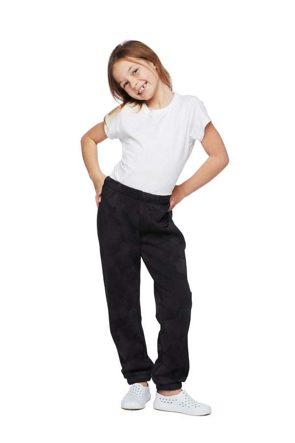 Niki Original kids sweatpants in black sponge from Lazypants - always a great buy at a reasonable price.