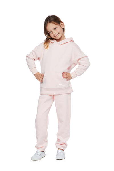 Kids Niki and Cooper fleece set in petal pink from Lazypants - always a great buy at a reasonable price.