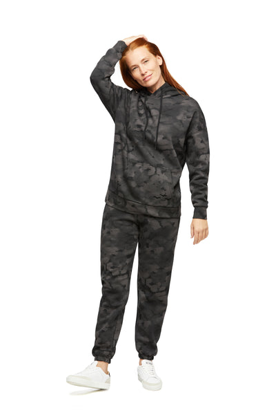 Niki & Cooper Fleece Set in Black Camo from Lazypants - always a great buy at a reasonable price.