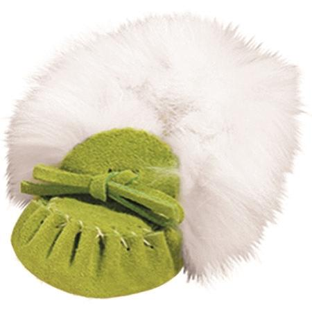 Apple Green Baby Moccasins