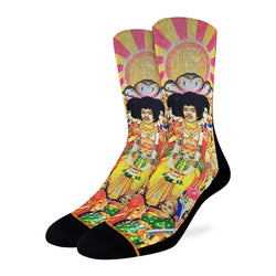 Men's Jimi Hendrix Axis: Bold as Love Socks