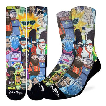 Rick and Morty Characters Socks