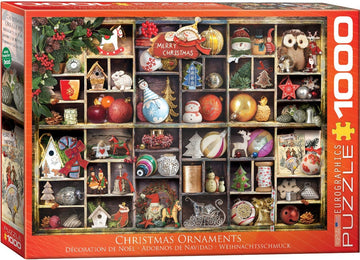 Christmas Ornaments Puzzle