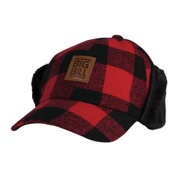Plaid Wool Hat
