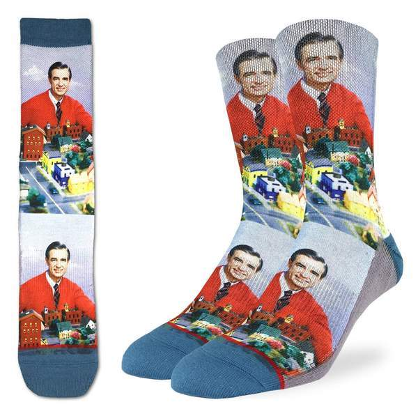 Mister Rogers Make Believe Kingdom Socks