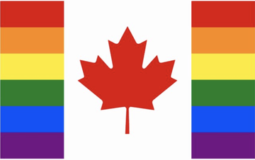 Canadian Pride Flags