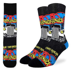 Aerosmith Eat The Rich Socks