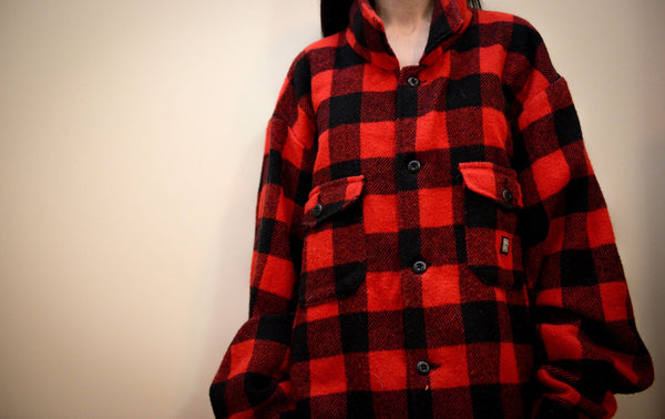 Canadian Made Wool Lumberjacket