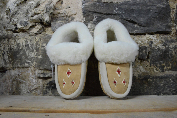 Womens: sheepskin slippers