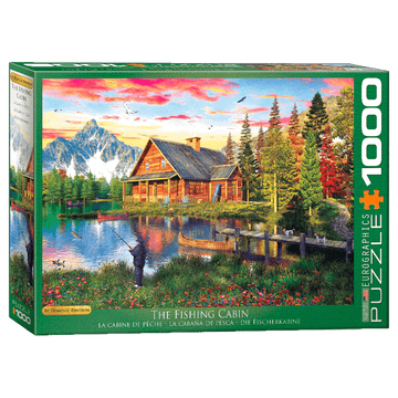 The Fishing Cottage 1000-Piece Puzzle