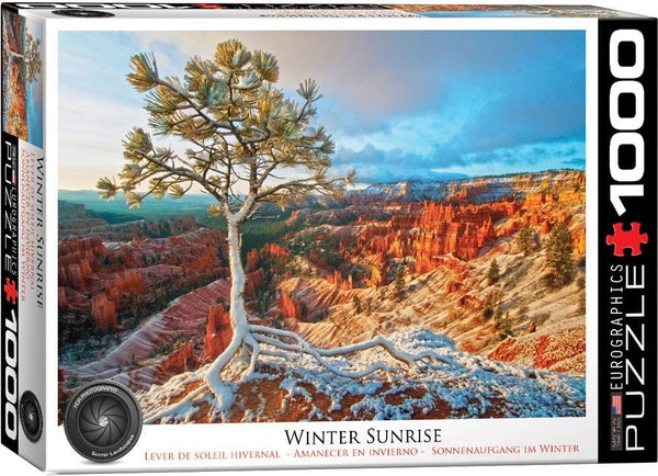Winter Sunrise Puzzle
