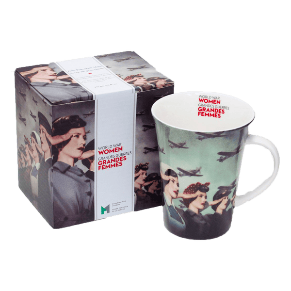 World War Women Porcelain Mug