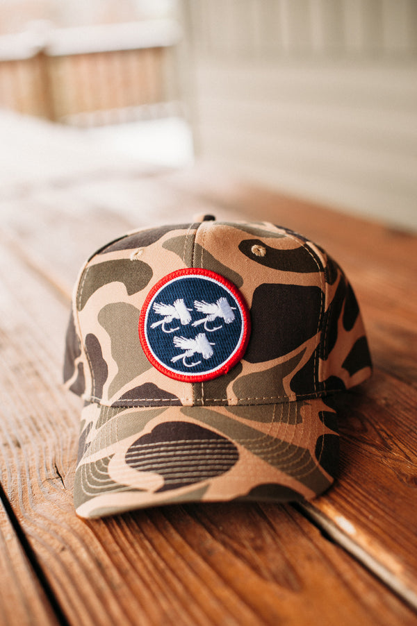 Tri-Fly™ Patch Camo Hat