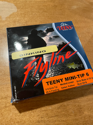 Teeny Mini-Tip Sinking Fly Line
