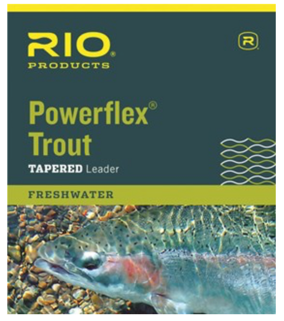 Powerflex Trout Tapered Leader