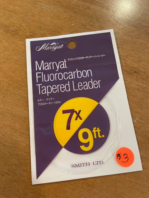 Marryat Fluorocarbon Tapered Leader