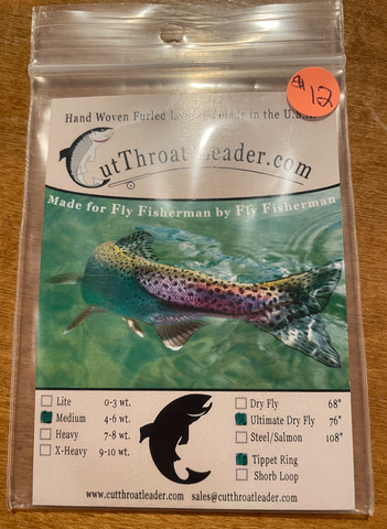 Ultimate Dry Fly Hand Woven Furled Leader