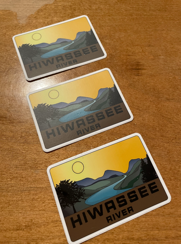 Hiwassee River Decal