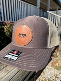 Drift Leather Patch Trucker