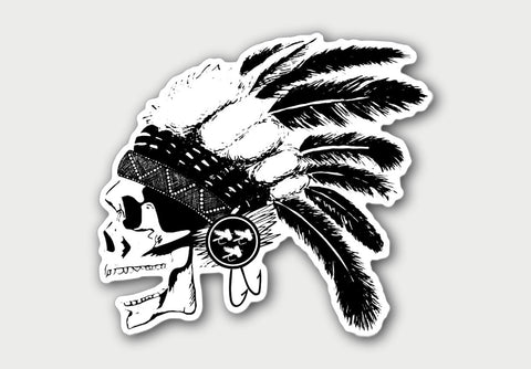 Dead Warrior Decal