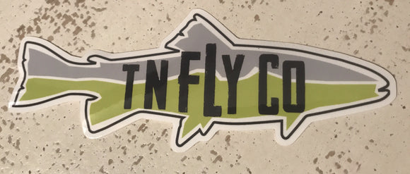 TNFLYCO Trout Decal