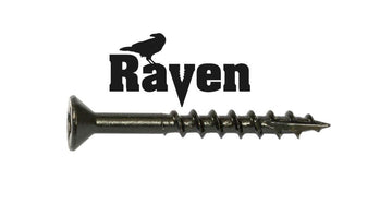 8-8X1-1/2 Raven™ Combo Drive Flat Head Hinge Screw