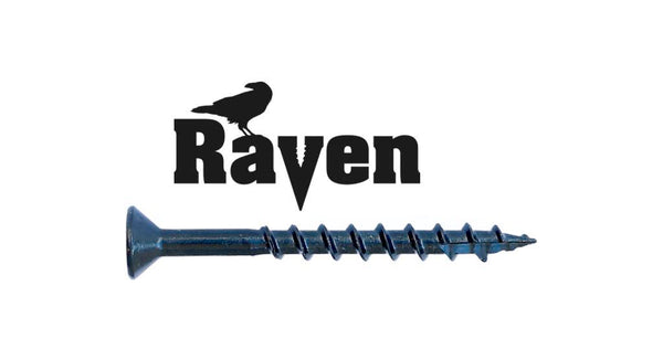 8-8X1-3/4 Raven™ Combo Drive Flat Head Hinge Screw
