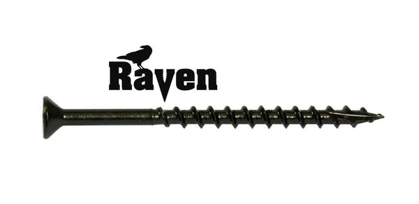 8-8X2-1/2 Raven™ Combo Drive Flat Head Hinge Screw