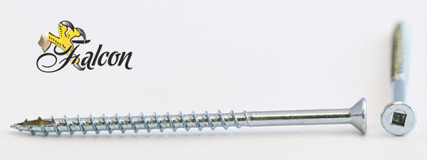 10-8X3-1/2 Falcon™ Square Drive Flat Head Screw