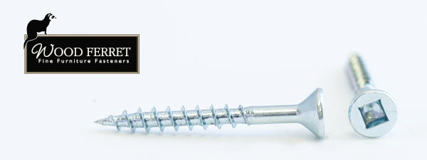"6X1-1/4"" Square Drive Flat Head Screw"
