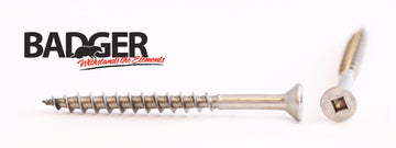 10-8X2-1/2 Badger™ Square Drive Bugle Head Screw