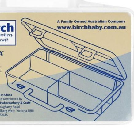 birch embroidery craft knitting crochet 4 compartments organiser fitzroy melbourne