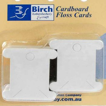 birch embroidery floss cards cardboard packet of 50 fitzroy melbourne