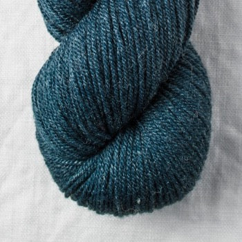 Quince and co Tern Petrol wool silk yarn and co fitzroy melbourne