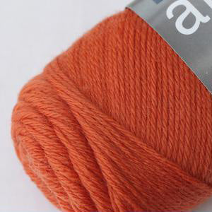 filcolana arwetta classic 4ply sock yarn wool and nylon blend yarn and co phillip island victoria australia tangerine