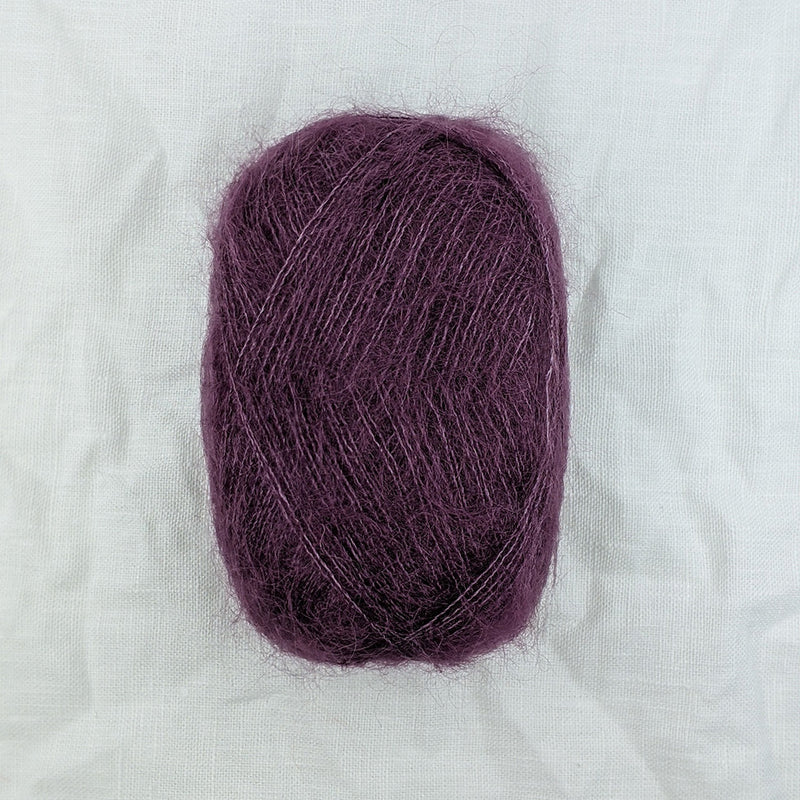 filcolana tilia mohair and silk blend yarn and co phillip island victoria australia amethyst 324
