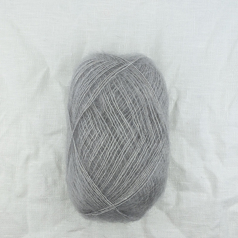 filcolana tilia mohair and silk blend yarn and co phillip island victoria australia silver 358