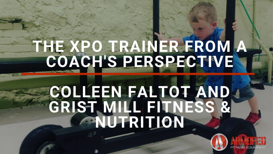 Armored Fitness Coach's Perspective - Colleen Faltot and Grist Mill Fitness & Nutrition
