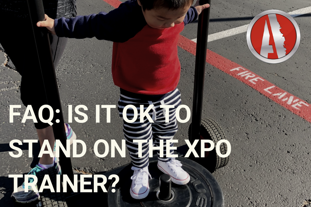 FAQ: Is it OK to Stand on the XPO Trainer?
