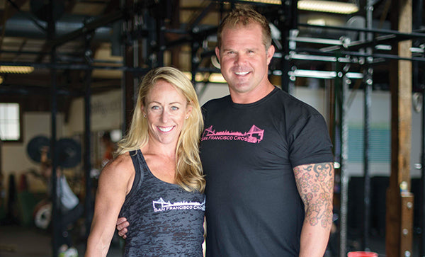 Bill & Becky Strahan, Founders of Armored Fitness Honor a CrossFit Legend