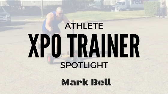 Athlete XPO Trainer Spotlight: Mark Bell