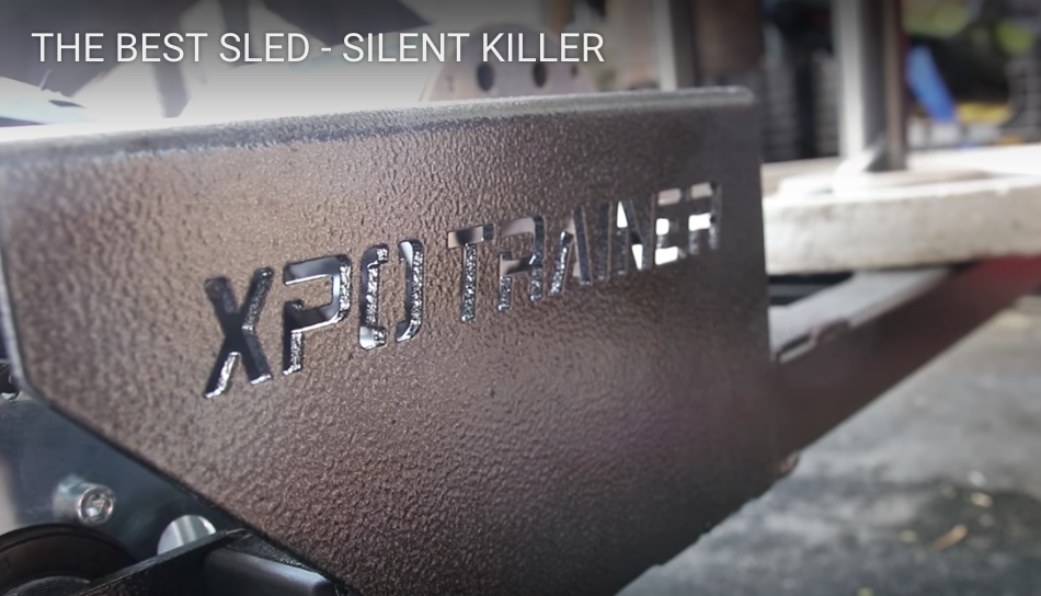 "Armored Fitness- ""The Best Sled"" XPO Trainer Review by Highland Games Athlete Matt Vincent"
