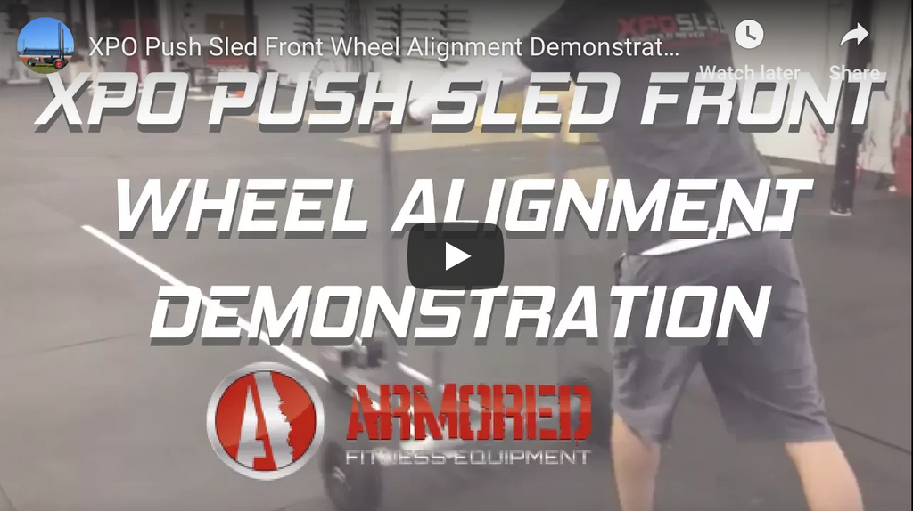 FRONT WHEEL ALIGNMENT INSTRUCTIONS - XPO SLED®