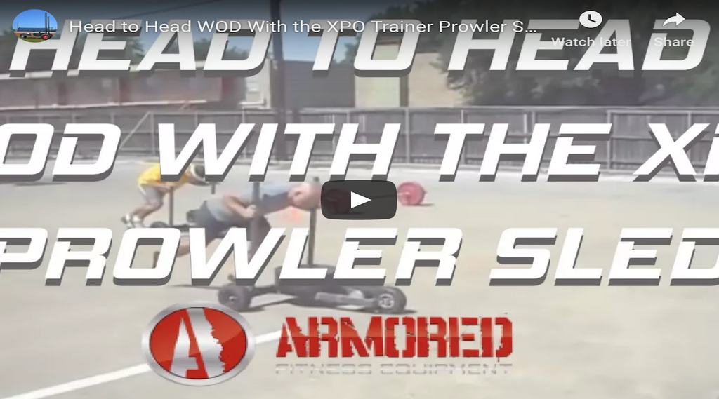 Head to Head WOD With the XPO Trainer Prowler Sled