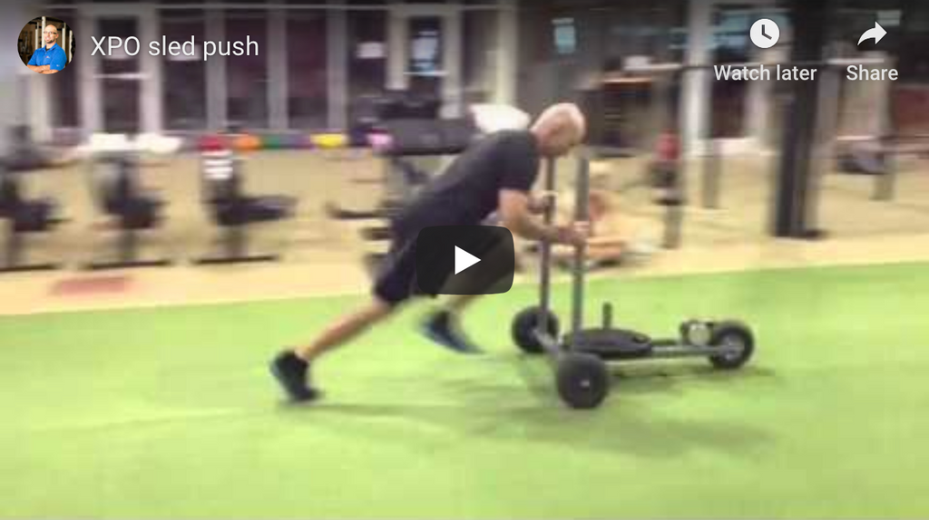 XPO Sled Push - Ben Fogel