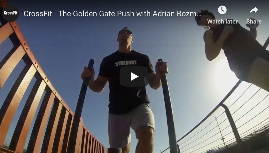 CrossFit - The Golden Gate XPO TRAINER Push with Adrian Bozman, Matt Chan, and Rory McKernan
