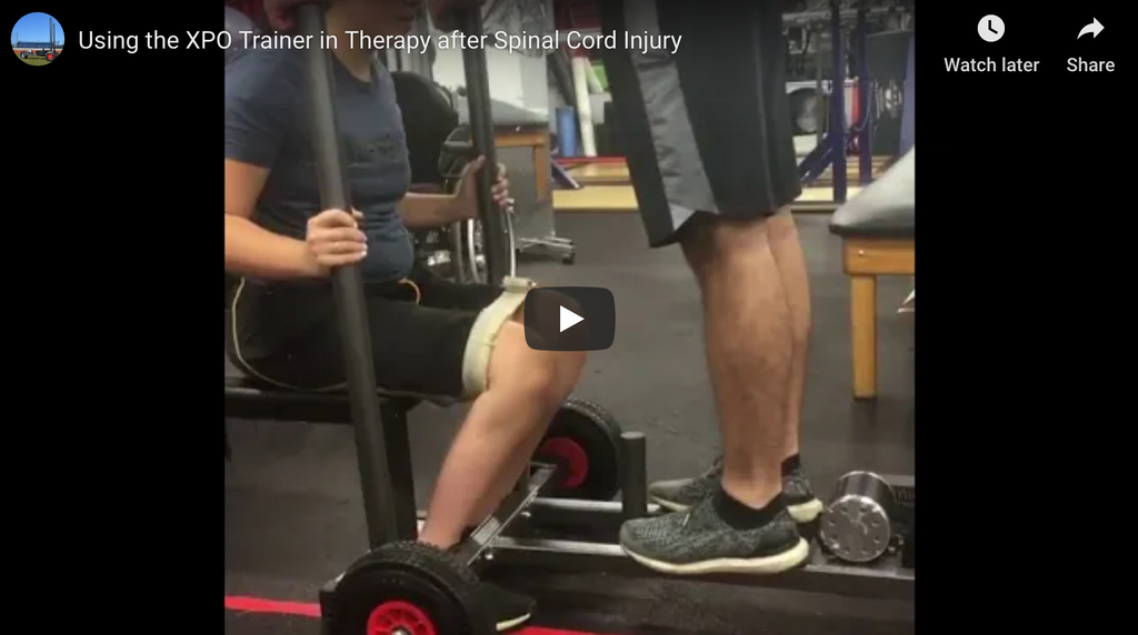 Using the XPO Trainer in Therapy after Spinal Cord Injury